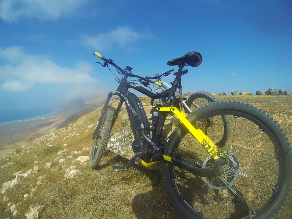 Rent bike lanzarote