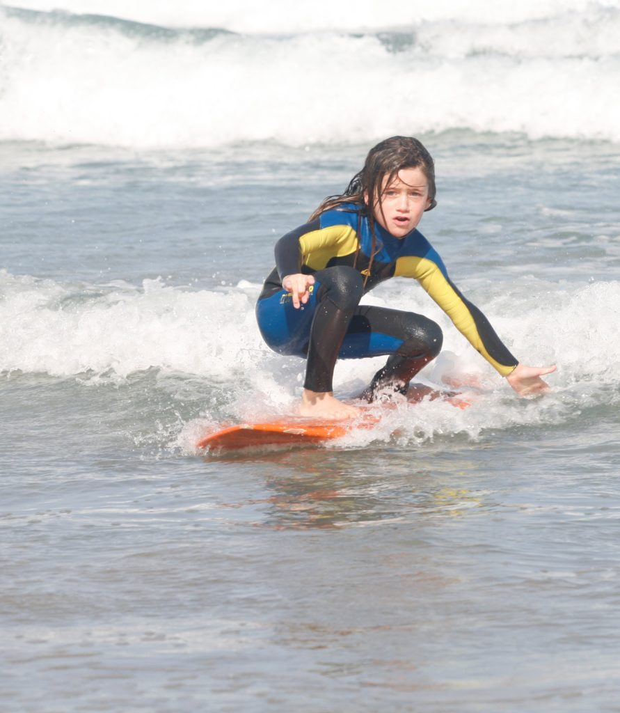 kids surfing classes in Lanzarote