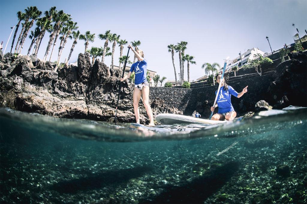 Paddle surf en puerto del carmen (SUP)