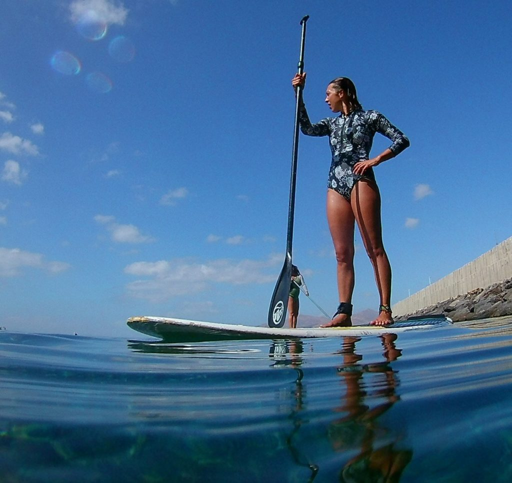 SUP in lanzarote