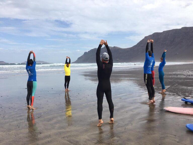 retiro de surf y yoga