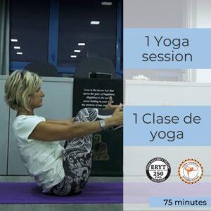 yoga session lanzarote