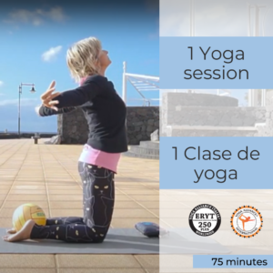1 yoga class from Lanzarote